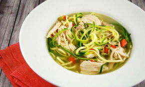 Chicken Zoodle Soup – Chicken Recipe Zoodle