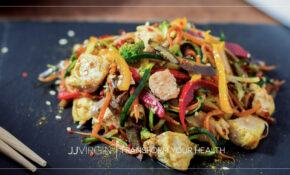 Chicken Zoodle Stir Fry – Chicken Recipe Zoodle
