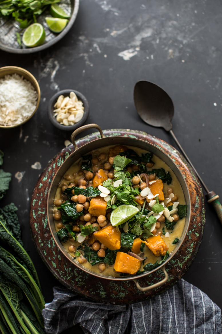 Chickpea And Coconut Korma Curry With Pumpkin - Cook Republic - recipe vegetarian korma curry
