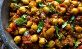 Chickpea Curry (Chhole) Recipe – EatingWell – Healthy Recipes Indian Veg