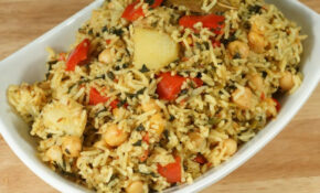Chickpea Pulav (Chole Biryani, One Pot Meal) - Manjula's ...