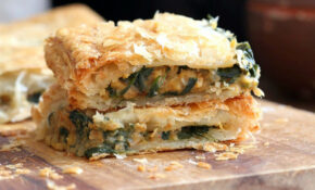 Chickpea Spinach Pie With Berbere Spice – Recipes Using Berbere Spice Vegetarian