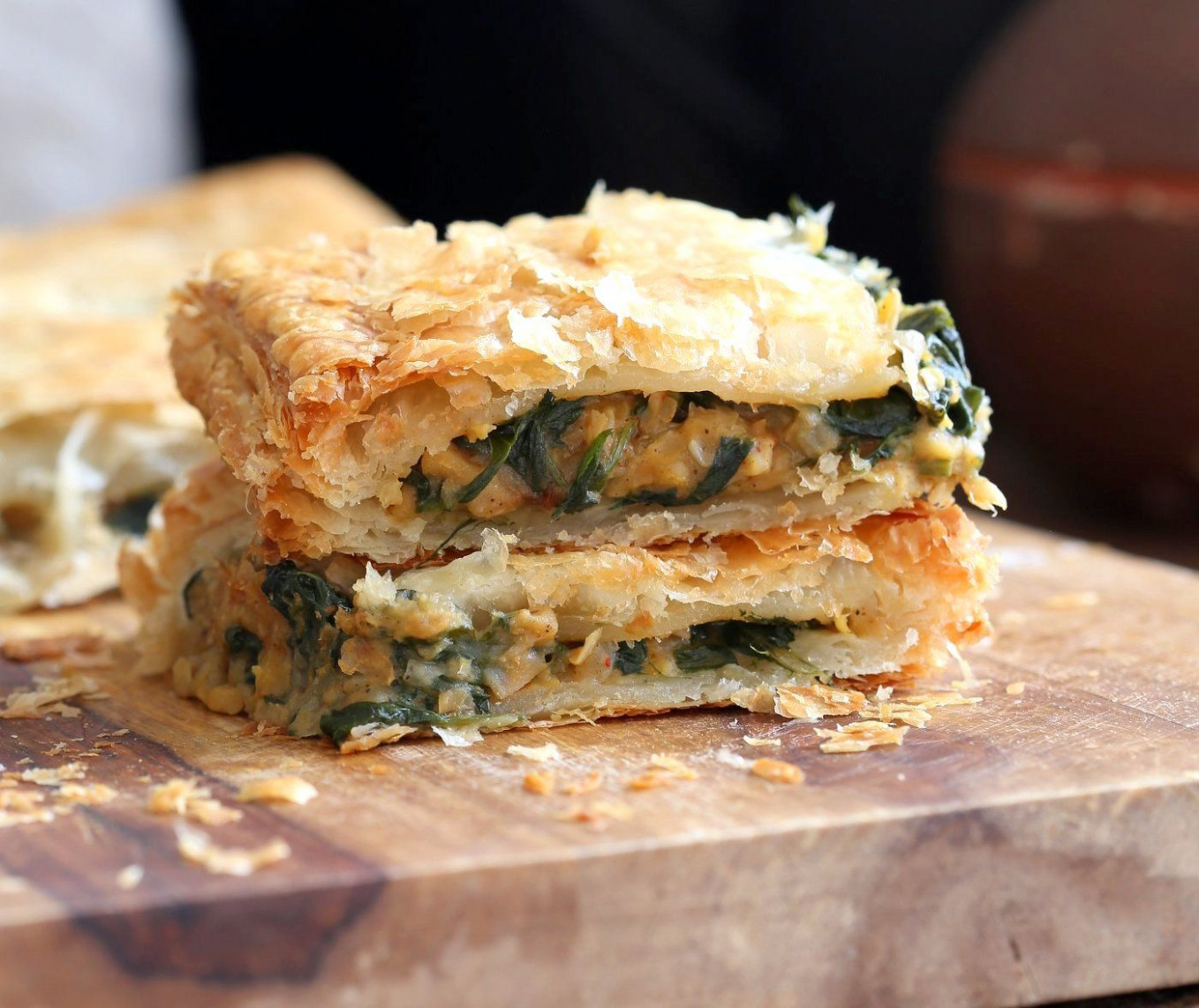 Chickpea Spinach Pie with Berbere Spice - recipes using berbere spice vegetarian