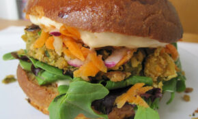 Chickpea Veggie Burger Recipe | POPSUGAR Food – Recipes Vegetarian Burgers