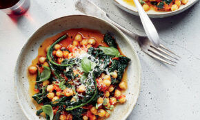 Chickpeas And Kale In Spicy Pomodoro Sauce Recipe – Missy ..