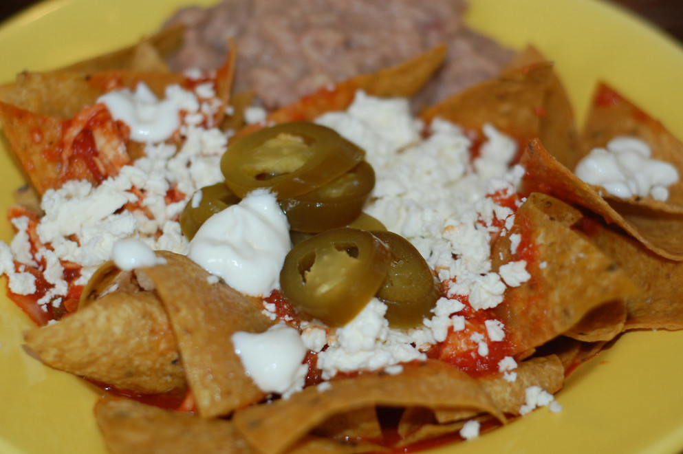 Chilaquiles + recipe - chicken recipes jalapeno peppers