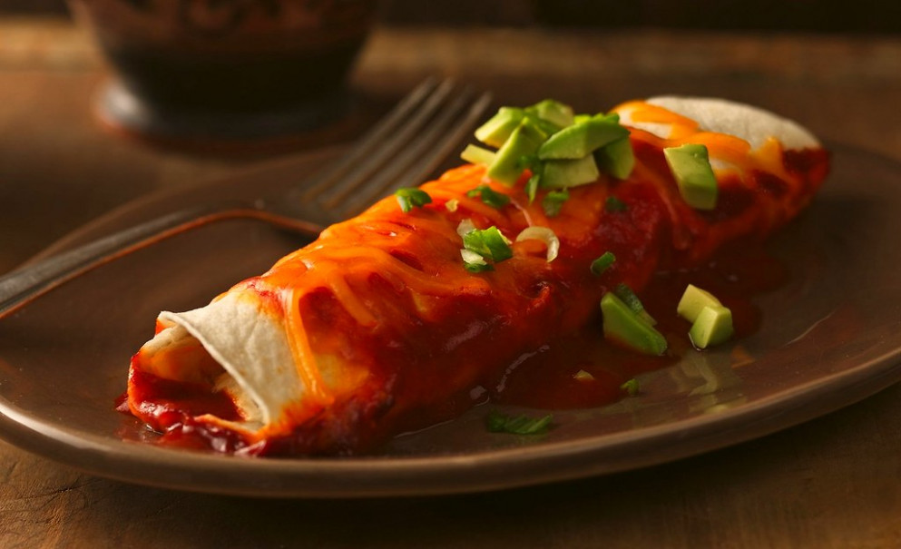 Chile-Chicken Enchiladas - avocado recipes chicken