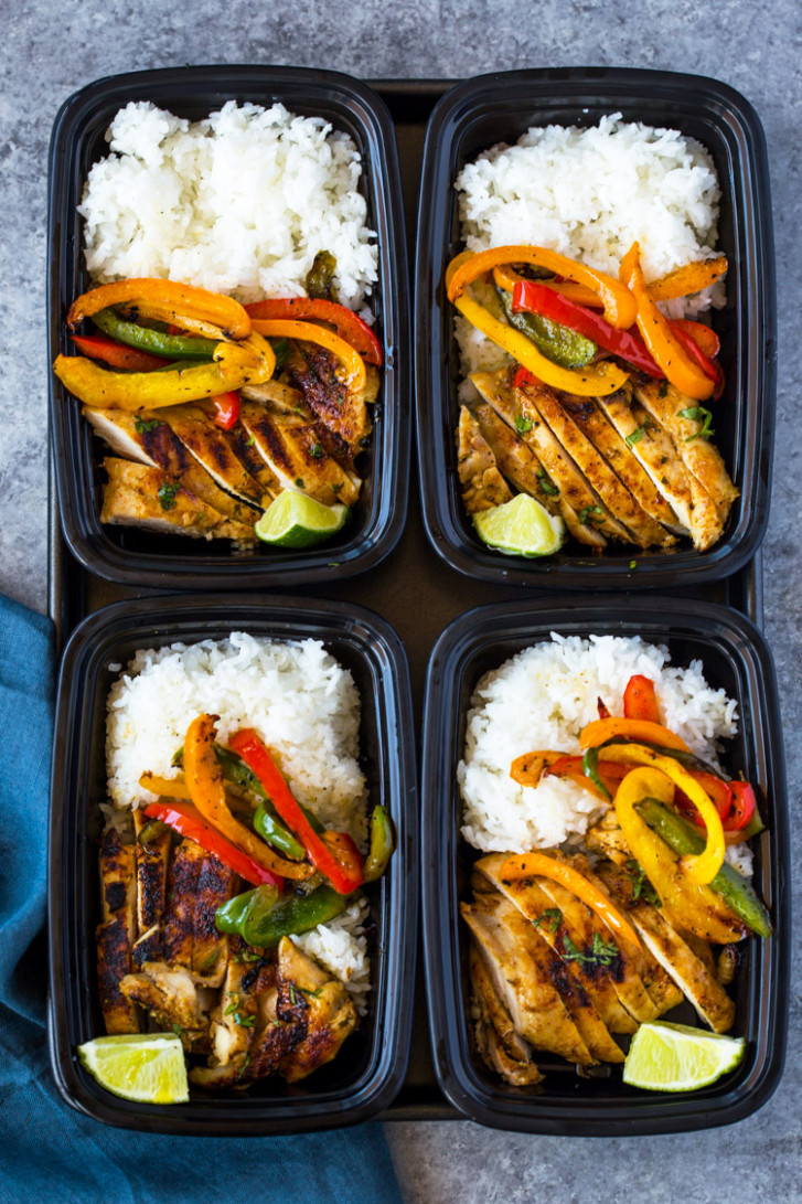 Chili Lime Chicken and Rice Meal Prep Bowls - rice bowl recipes chicken