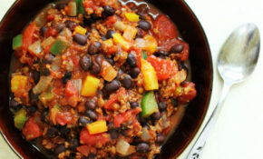 Chili Recipe Crock Pot Easy Beef With Beans Vegetarian ..