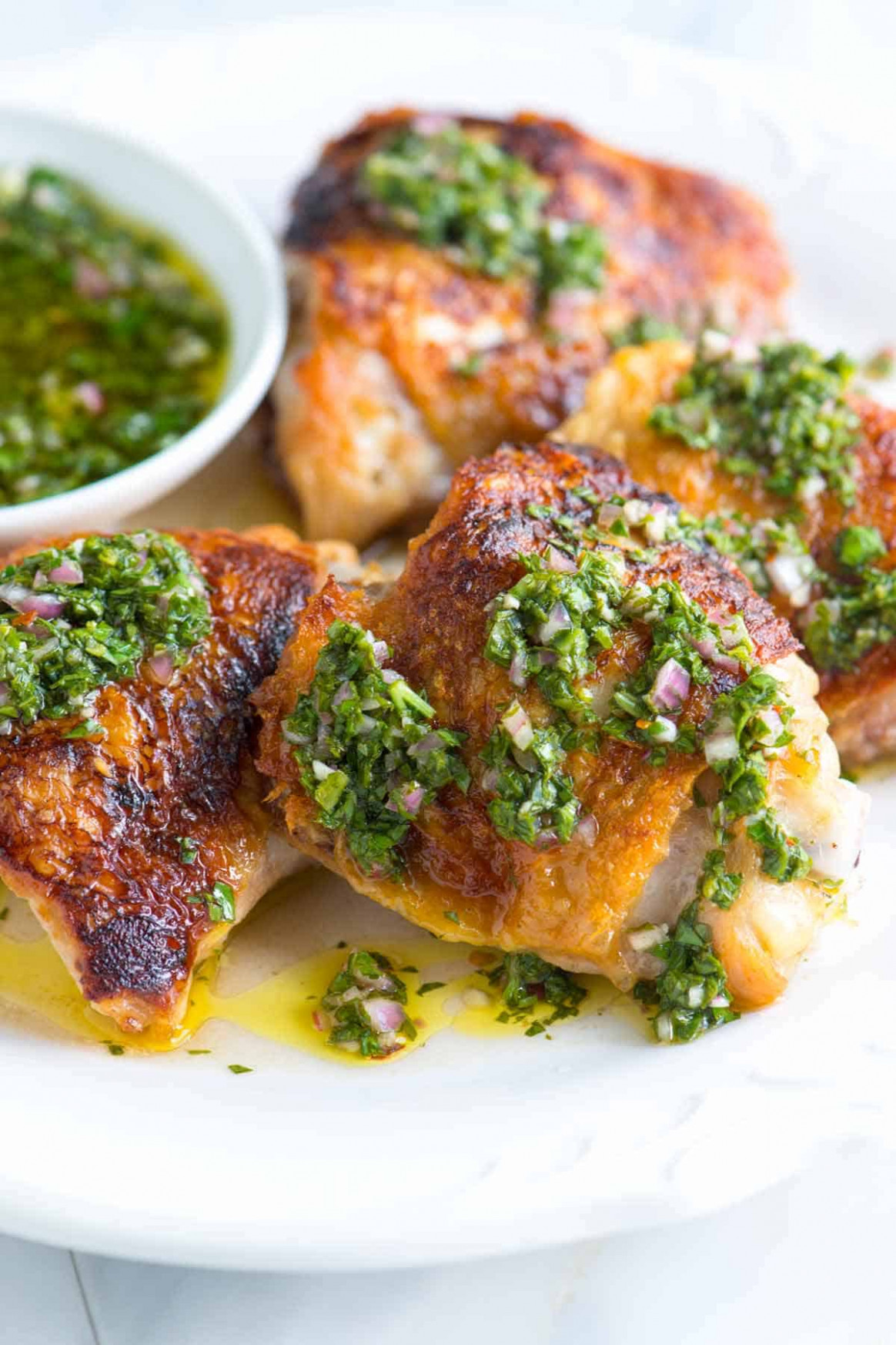Chimichurri Chicken Thighs Recipe - Recipes Made With Chicken Thighs