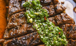Chimichurri Steak – Courtney's Sweets – Dinner Recipes Steak