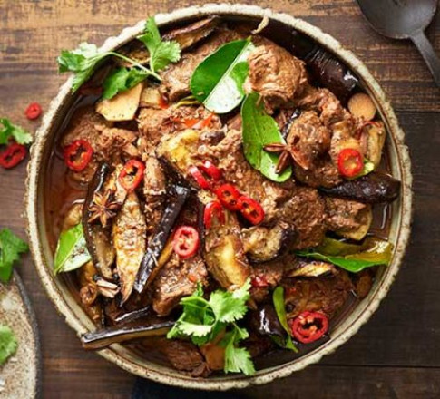 Chinese beef & aubergine hotpot recipe | BBC Good Food - chinese food recipes