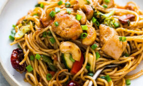 Chinese Cashew Chicken Noodles Stir Fry – Noodle Recipes Chicken