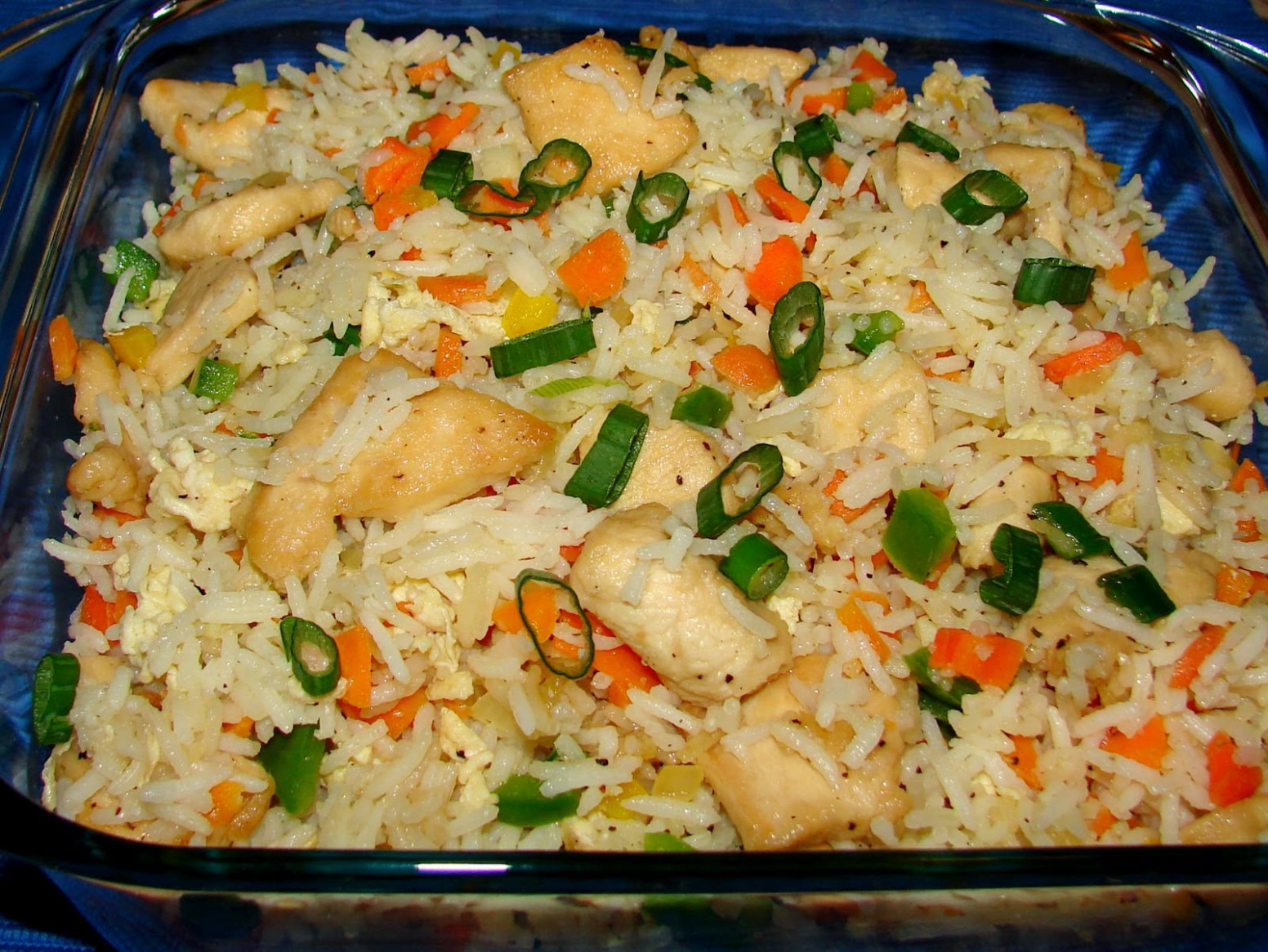 Chinese Chicken Fried Rice II Recipe — Dishmaps - Chicken Recipes And Rice