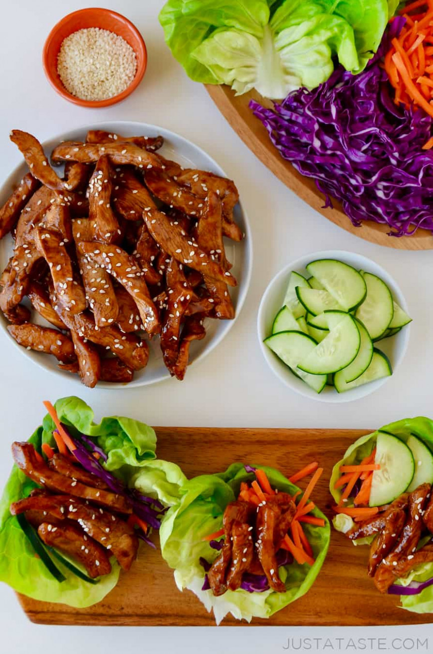 Chinese Chicken Lettuce Wraps - lettuce wrap recipes chicken