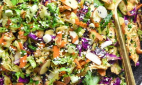 Chinese Chicken Salad – Healthy Red Cabbage Recipes