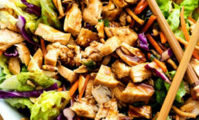 Chinese Chicken Salad Recipe — Dishmaps – Chicken Recipes Chinese
