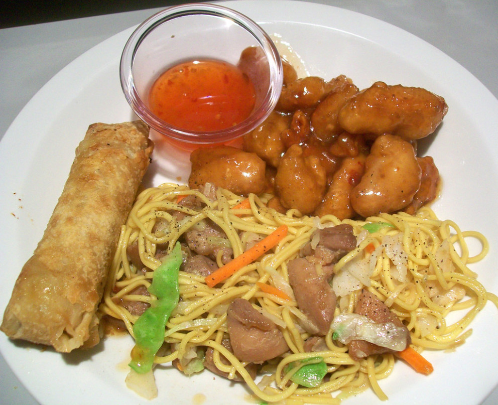 Chinese Food Dinner - recipes egg noodles and chicken
