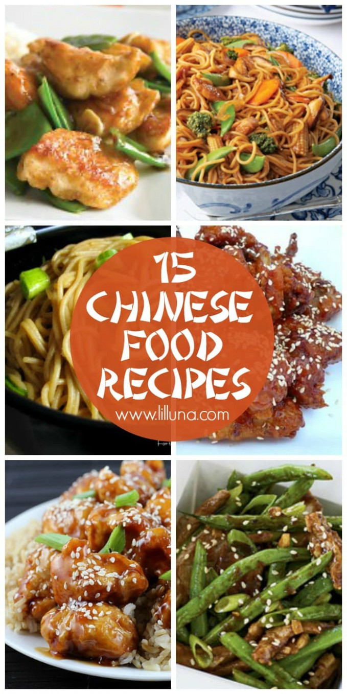 Chinese Food Recipes - food recipes asian