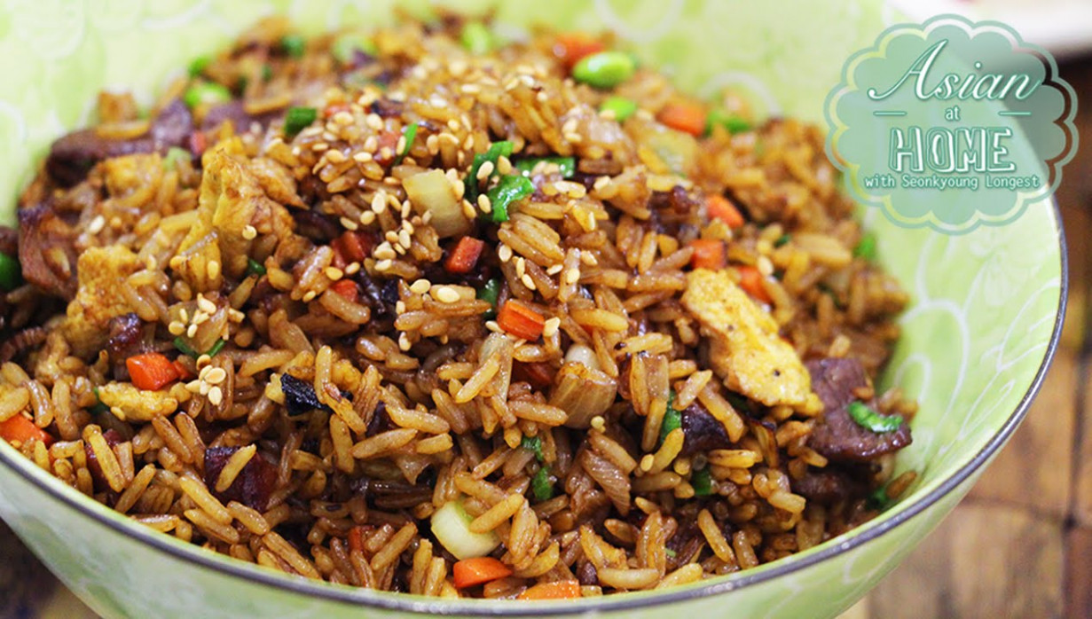 Chinese Fried Rice - YouTube - food recipes rice