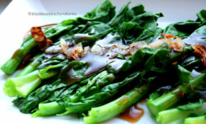 Chinese Greens with Oyster Sauce |