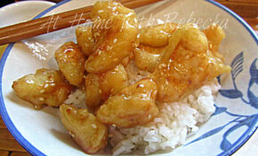 Chinese Honey Chicken Recipe – At Home With Rebecka – Recipes Honey Chicken