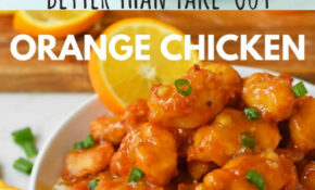 Chinese Orange Chicken – Food Recipes Photos