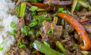 Chinese Pepper Steak – Chinese Food Recipes