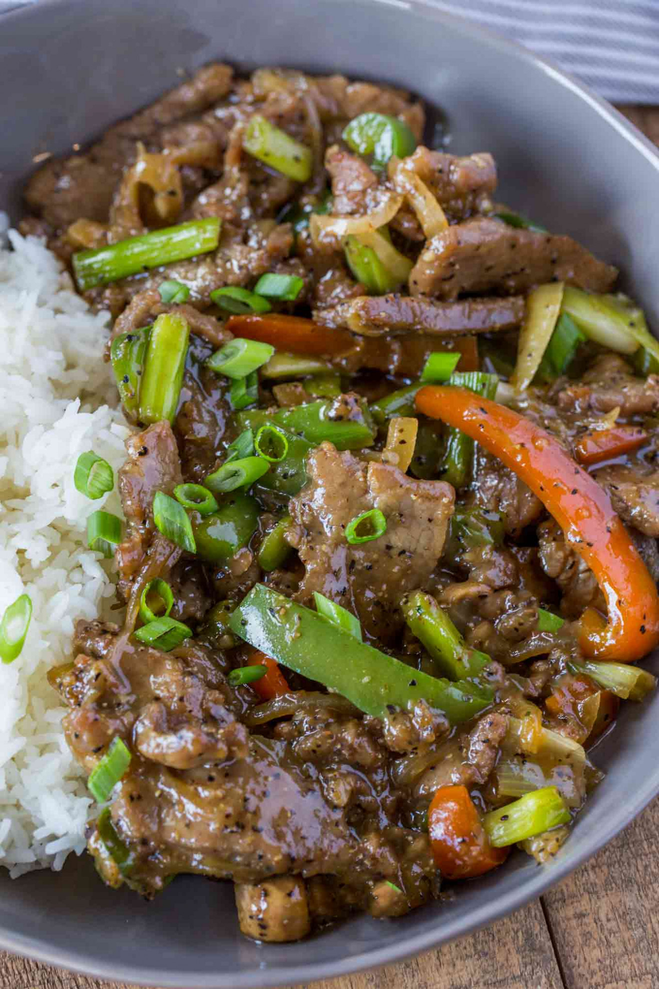 Chinese Pepper Steak - recipes chinese food