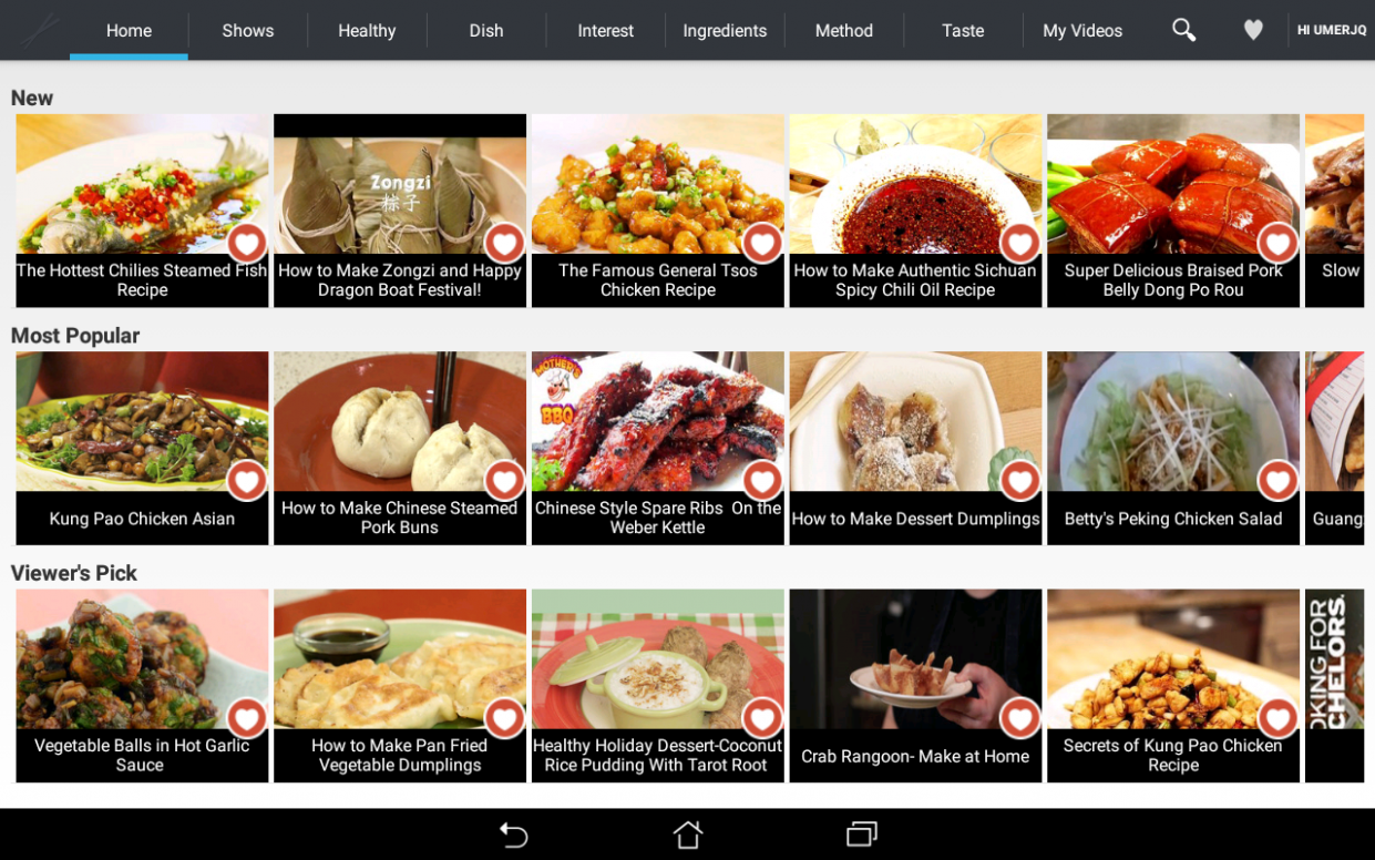 Chinese Recipes by Fawesome