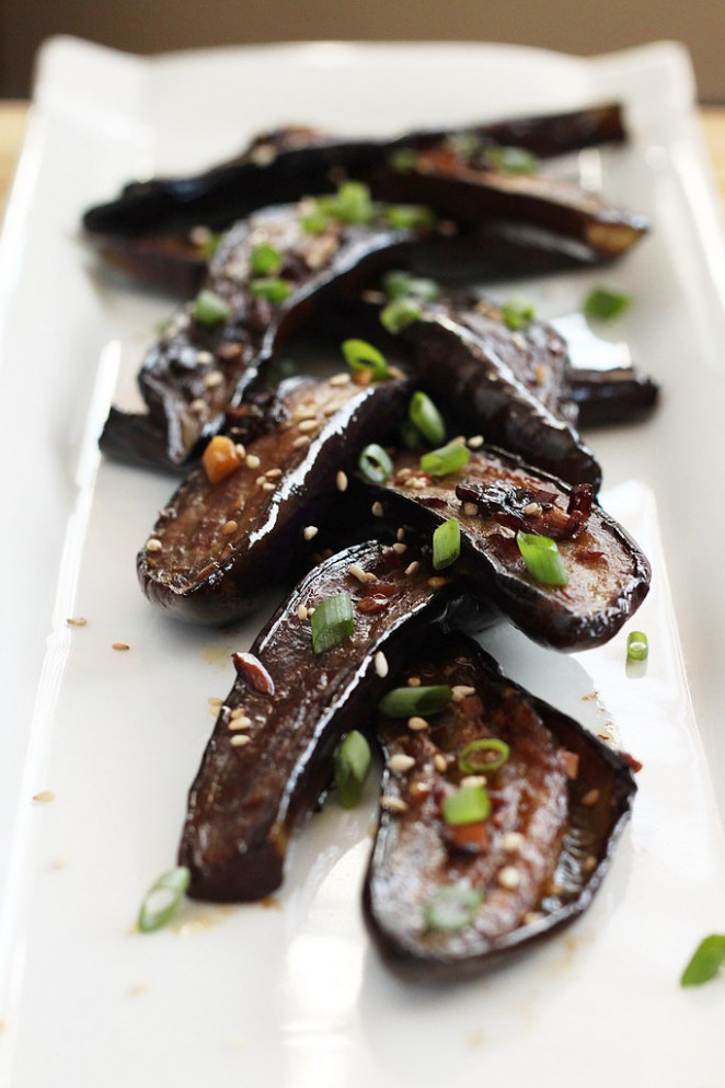 Chinese-Style Eggplant - eggplant recipes vegetarian