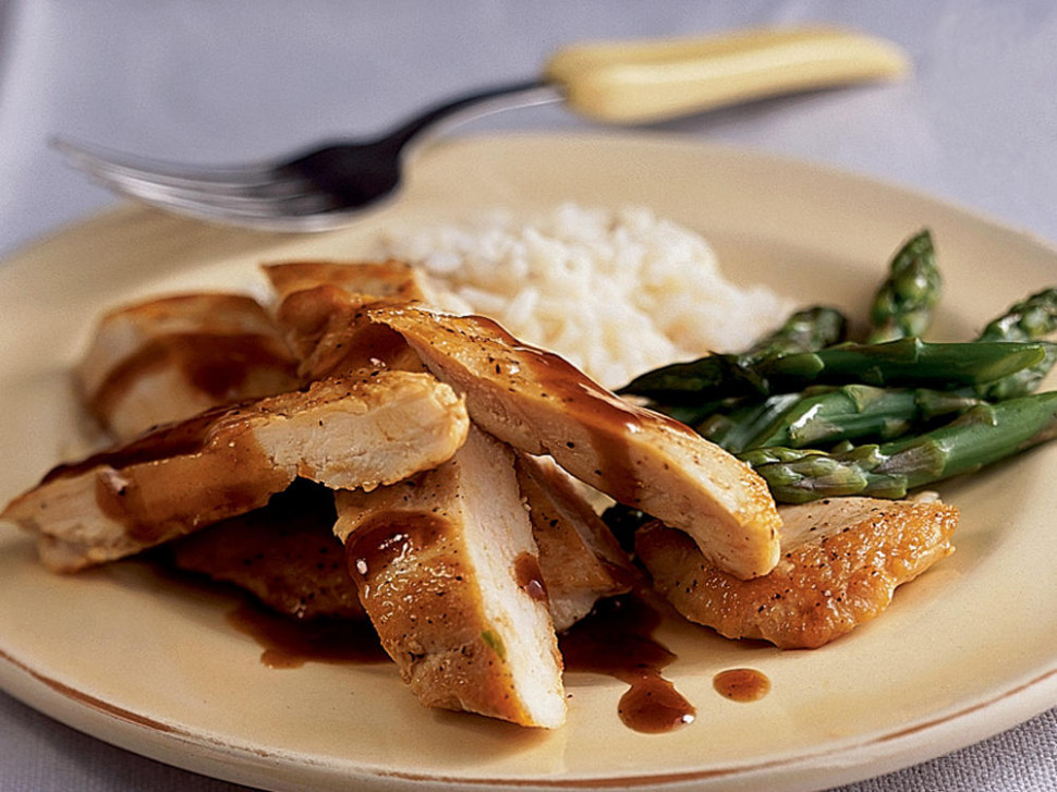 Chinese-Style Glazed Chicken Breasts Recipe | MyRecipes - chicken recipes chicken recipes
