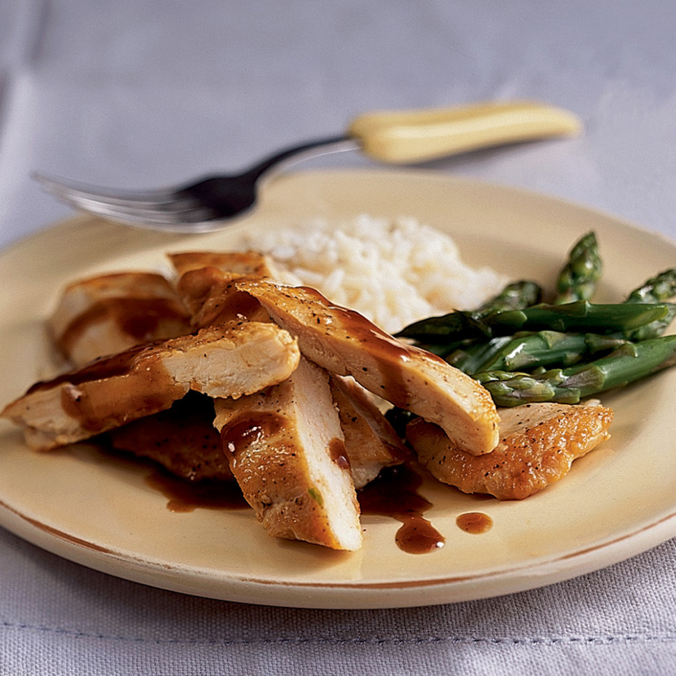 Chinese Style Glazed Chicken Breasts Recipe | MyRecipes - Chinese Recipes Chicken
