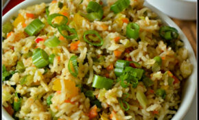 Chinese Vegetable Fried Rice Recipe | Subbus Kitchen – Recipes With Rice Vegetarian