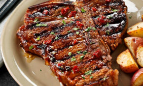 Chipotle Honey Grilled T Bones Recipe | Taste Of Home – Dinner Recipes On The Grill
