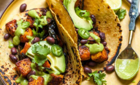 Chipotle Roasted Butternut Squash Tacos (Vegan) – Recipes Vegetarian Tacos