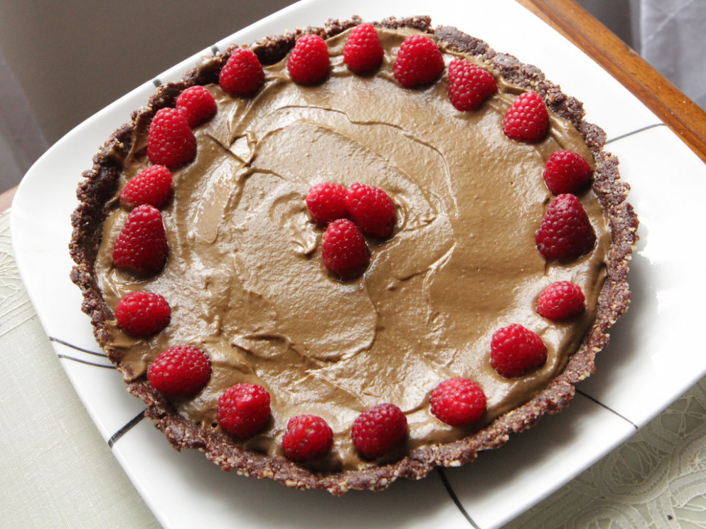 Chocolate Chocolate Tart - healthy vegan recipes for weight loss