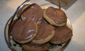 Chocolate  Coated Cinnamon Melting Moments – Food Recipes Quick And Easy