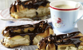 Chocolate Eclairs With Coffee Cream | RecipesPlus – Dinner Party Recipes Chicken