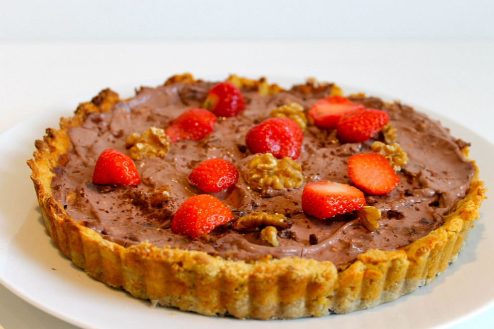 Chocolate Rum and Raisin Pie - healthy recipes high protein
