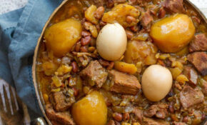 Cholent – Slow Cooked Stew For Shabbat, Also Known As ..