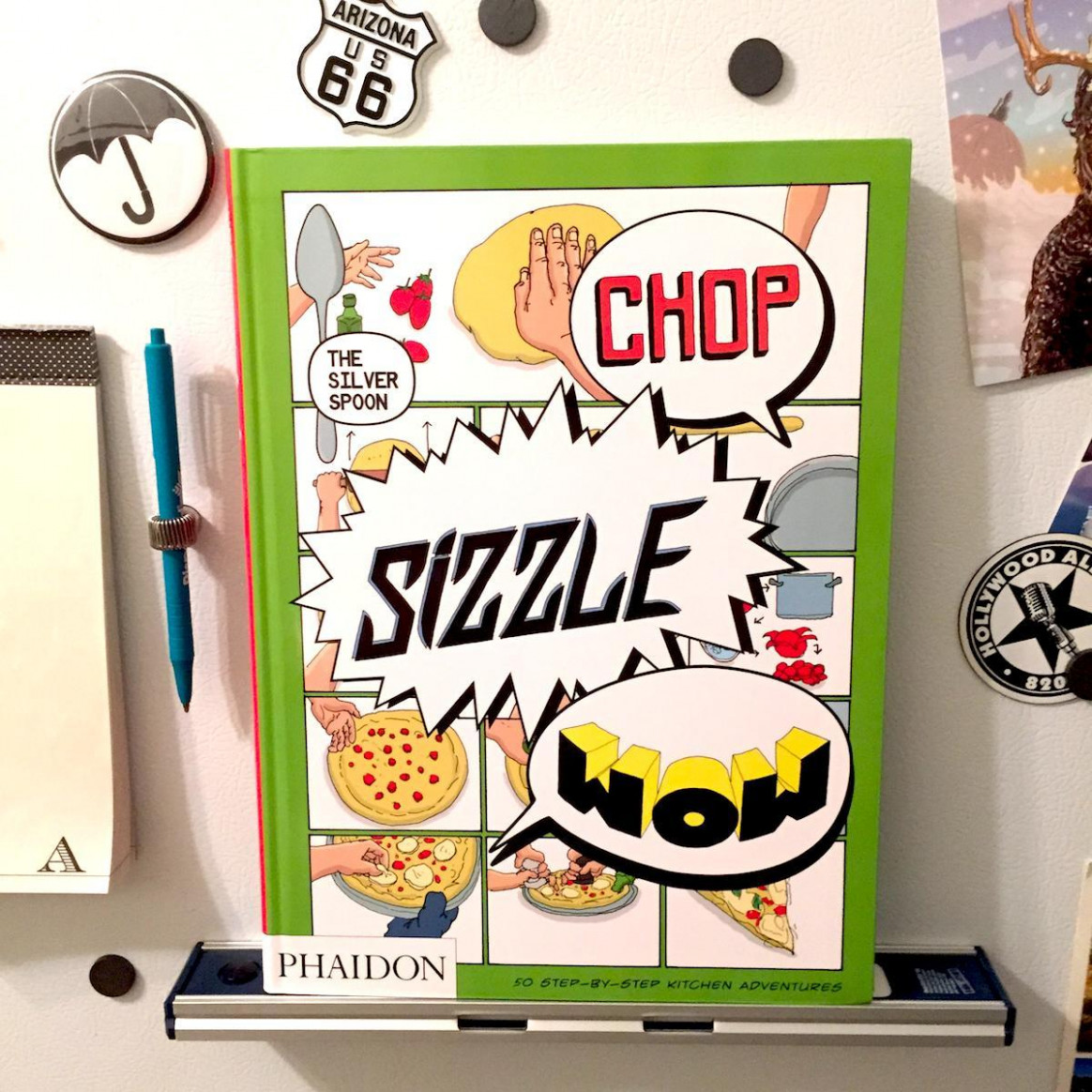 Chop Sizzle Wow – A delightful cookbook and comic..