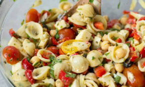 Chopped Italian Pasta Salad – Pasta Salad Recipes Vegetarian