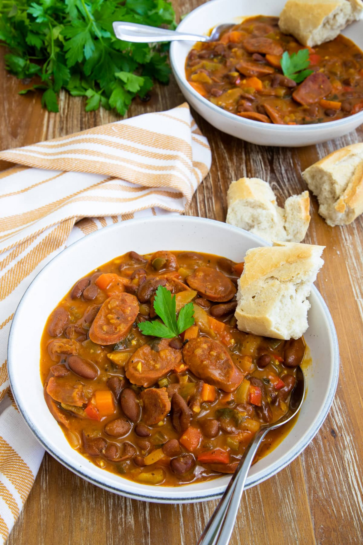 Chorizo and Bean Stew - chorizo recipes dinner
