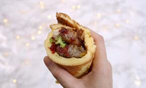 Christmas Dinner Yorkshire Pudding Wrap Recipe – Dairy Free Recipes Dinner