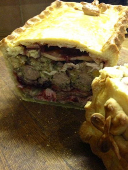 Christmas Leftover Pie | Paul Hollywood | bread based ..