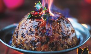 Christmas Pudding Dried Fruit, Pecans, Ginger, Rosemary ..
