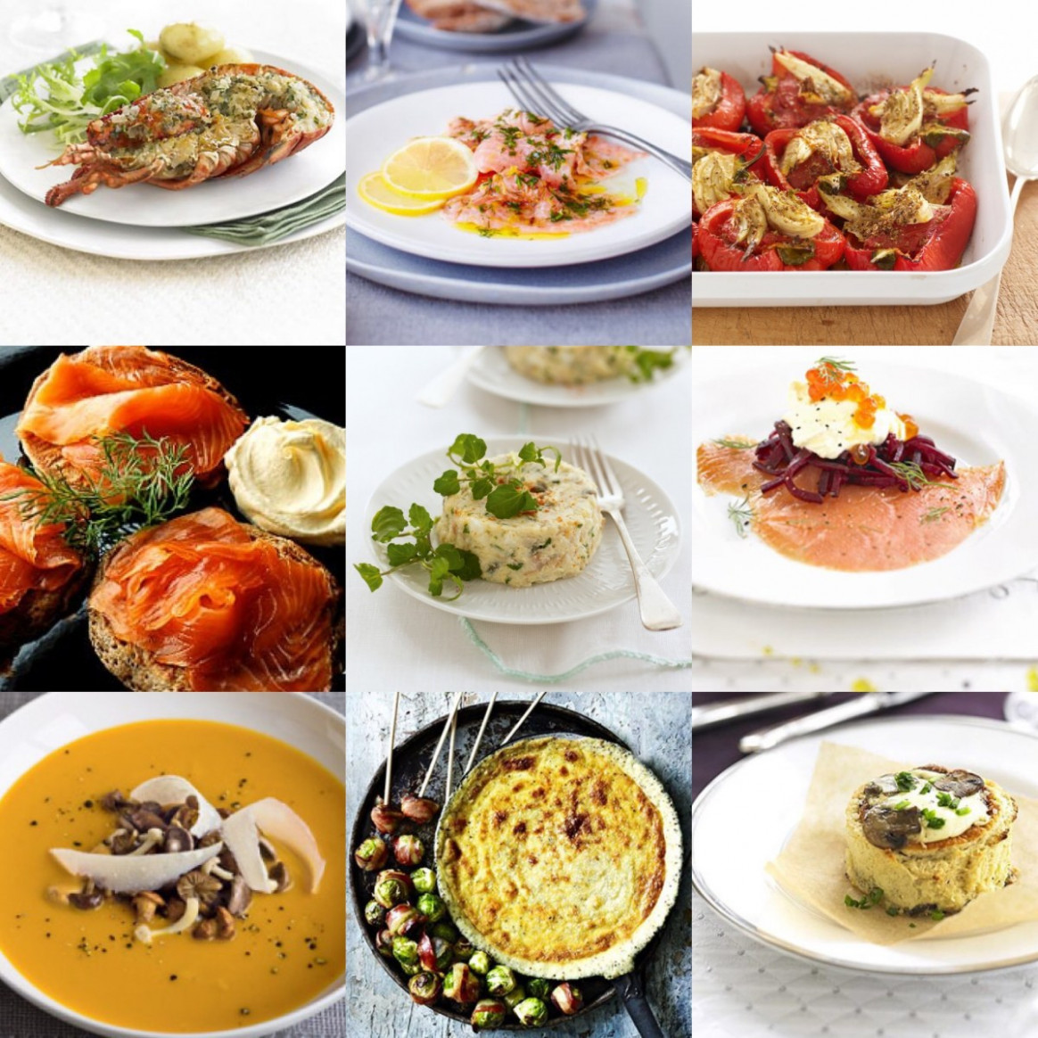 Christmas Starters - xmas dinner starters recipes