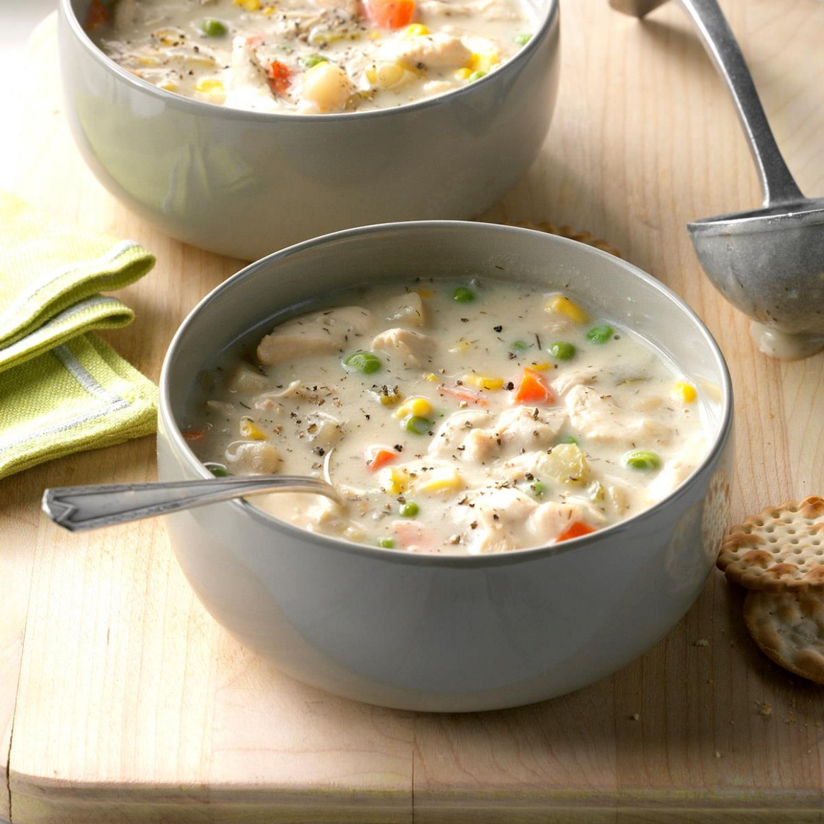 Chunky Creamy Chicken Soup - recipes soup with chicken