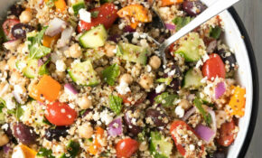 Chunky Mediterranean Quinoa Salad – Food Recipes Quinoa